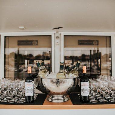 Cocktail et apéritif sur le côte d'argent