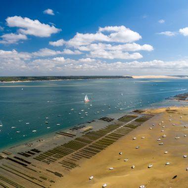 Découvrez tous les points d'embarquements du côte d'argent sur le bassin d'arcachon